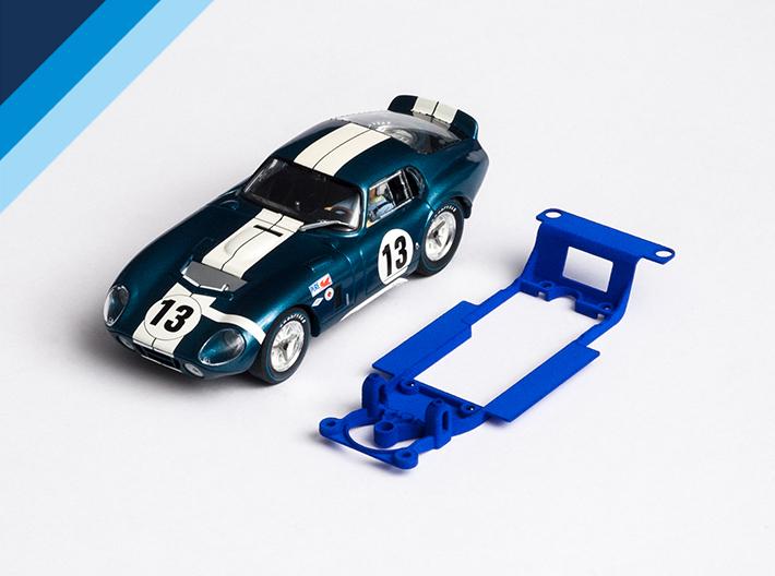 Chasis Olifer para Shelby Cobra Daytona de Revell-Monogram para bancada Slot.it sidewinder