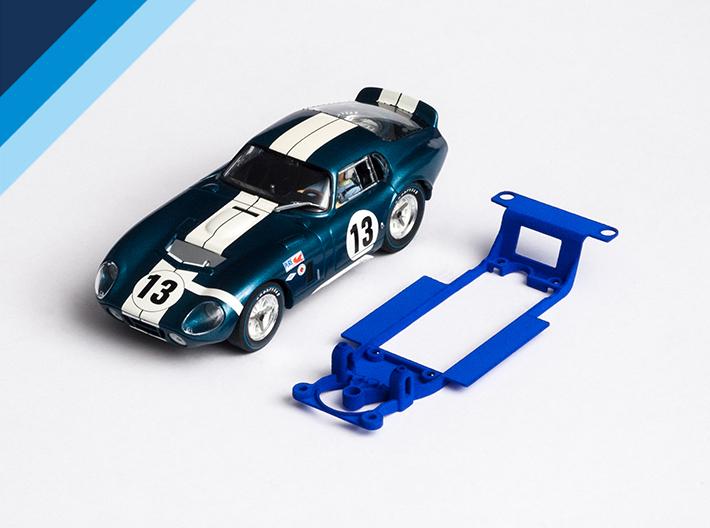 Chasis Olifer para Shelby Cobra Daytona de Revell-Monogram para bancada Slot.it inline estrecha