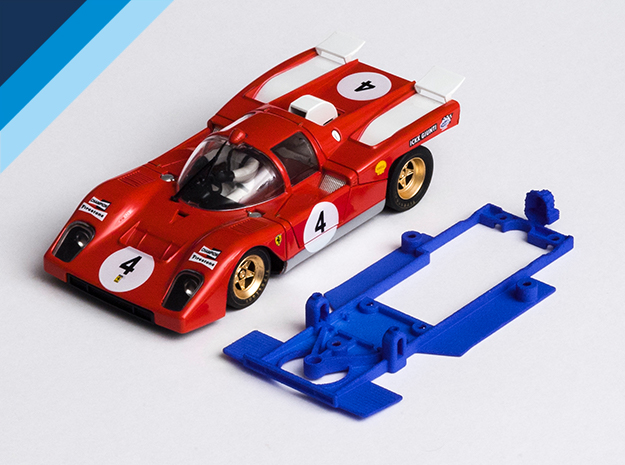 Chasis Olifer para Ferrari 512M de Spirit