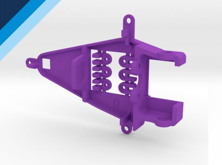 Bancada de motor Olifer inline caja corta, compatible con NSR - offset 0mm