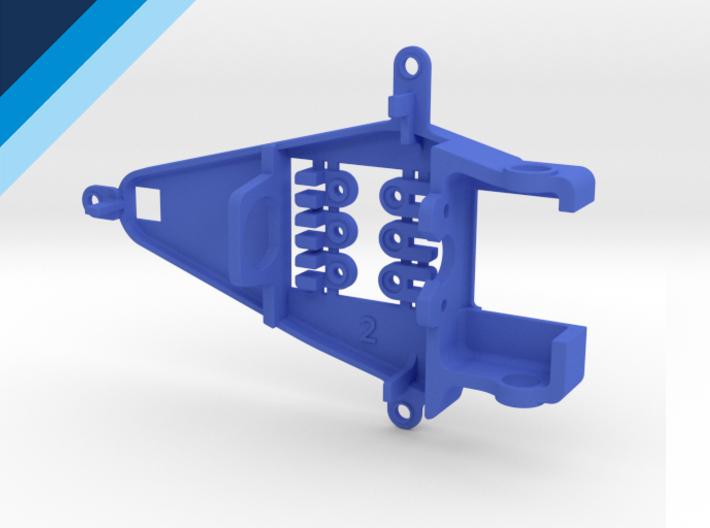 Bancada de motor Olifer inline caja corta, compatible con NSR - offset 0.2mm