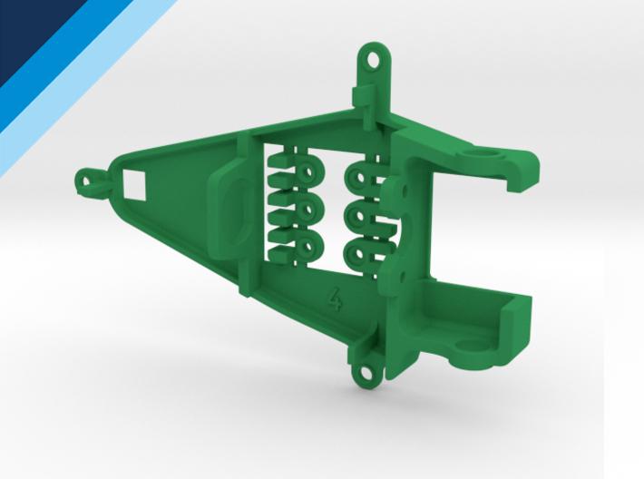 Bancada de motor Olifer inline caja corta, compatible con NSR - offset 0.4mm