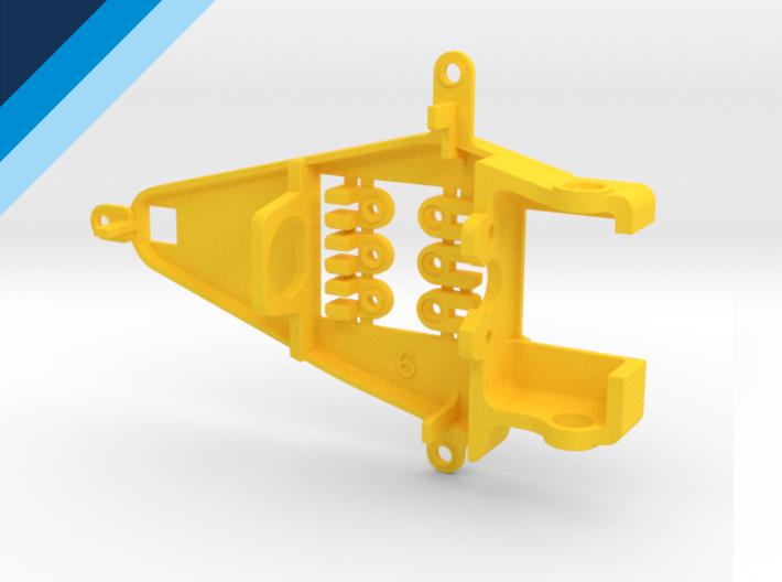 Bancada de motor Olifer inline caja corta, compatible con NSR - offset 0.6mm