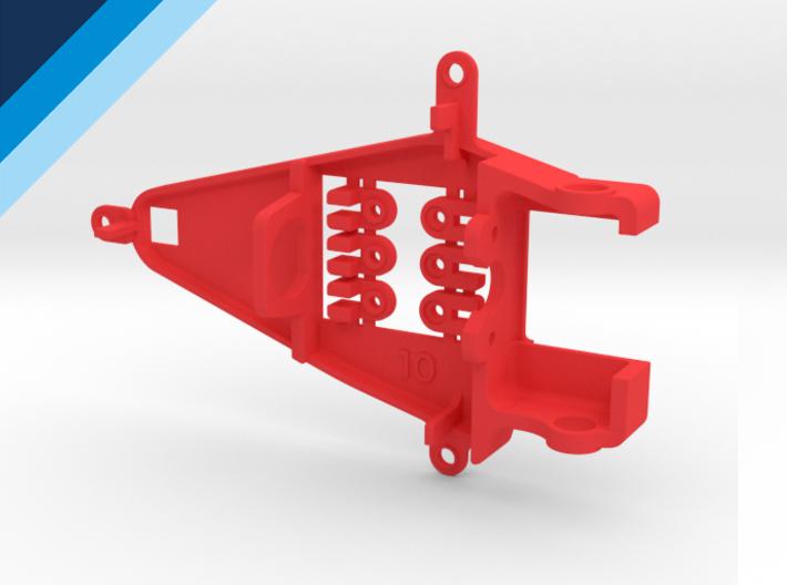 Bancada de motor Olifer inline caja corta, compatible con NSR - offset 1mm